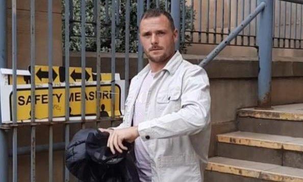Jordan McGhie at Dundee Sheriff Court