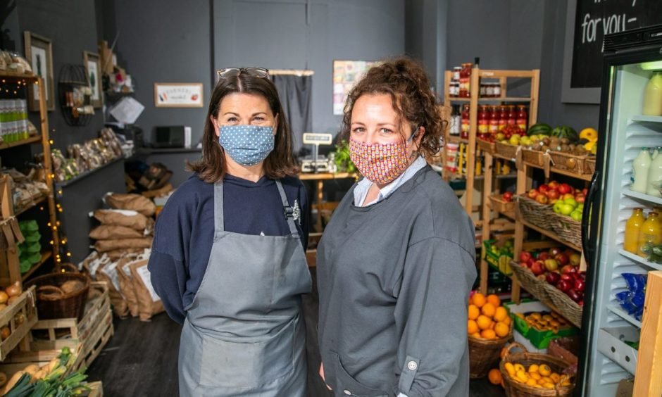 Fiona Hutcheon, left, and Cheryle Sexton at, Clementine.
