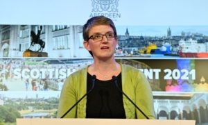 Scottish Green MSP Maggie Chapman.