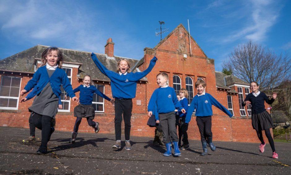 Abernyte Primary School.