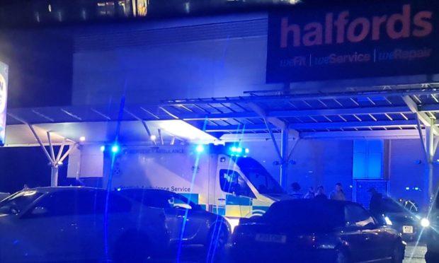 Dundee car meet crash