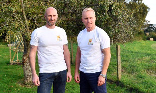 Mark Scott and Tony Ottley, co-founders of Bella and Duke.