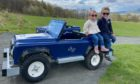 Mini Land Rovers are now on offer at Crieff Hydro.