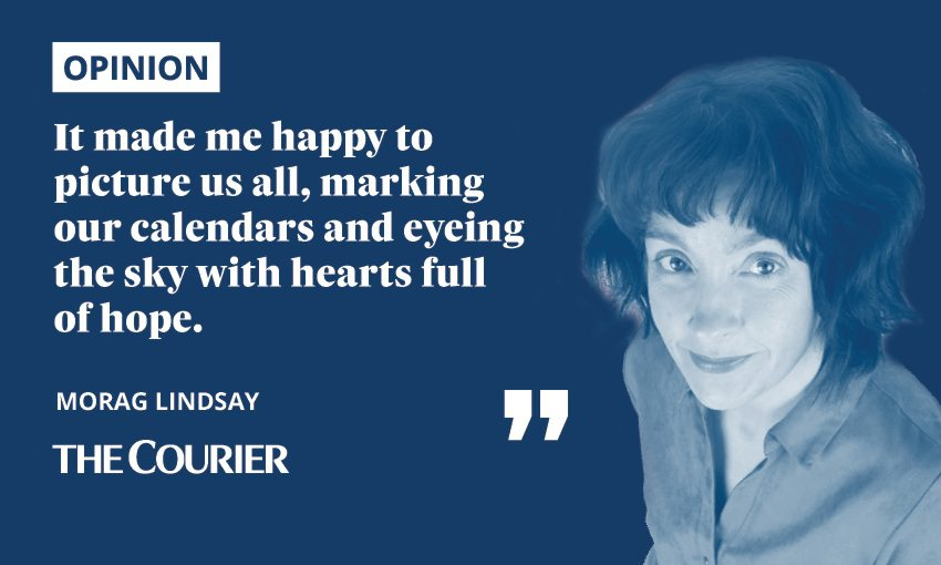 Morag Lindsay opinion The Courier