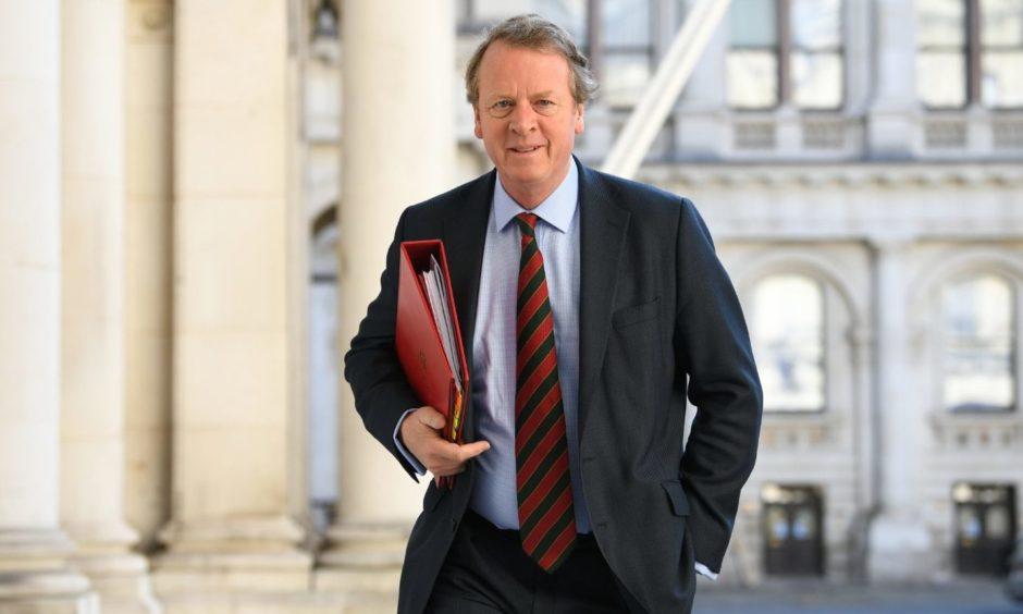 Secretary of State for Scotland Alister Jack