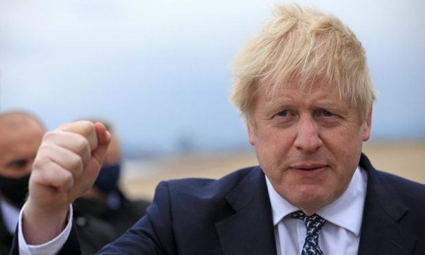 Boris Johnson Holyrood election
