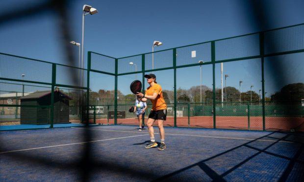 JB Corrie padel tennis court.