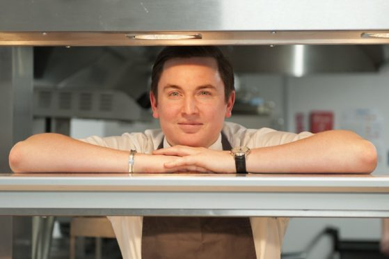Dean Banks has revealed where his next venture will be, after the closure of his St Andrews eatery last month.