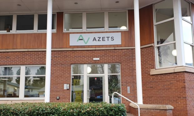 To go with story by Gavin Harper. Azets creating jobs Picture shows; Azets Perth office. Perth. Supplied by Azets Date; Unknown