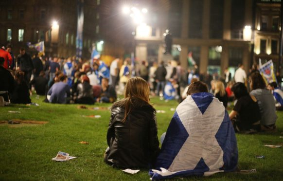 Yes campaigners await results of the last referendum