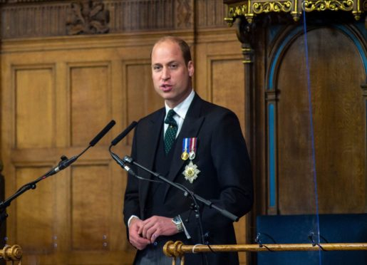 Prince William addresses the opening of the General Assembly of the Church of Scotland