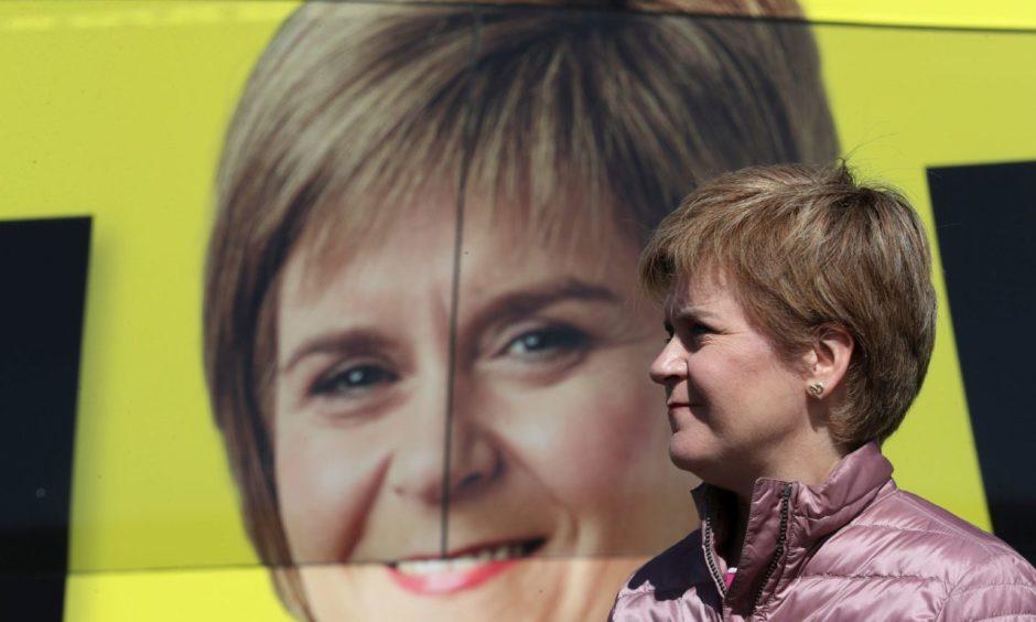 Nicola Sturgeon election independence