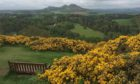 Scott's View at Bemersyde on the  Scottish Borders, which inspired the novelist Walter Scott.