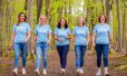 Claire Dyce, Gill Ferguson, Jennifer Paton, Dianne Scott and Susan Dyce
