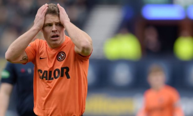 John Rankin experienced heartache in big games for Dundee United on numerous occasions.