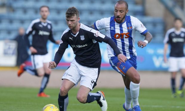 Dundee will face Kilmarnock for a place in the Premiership.