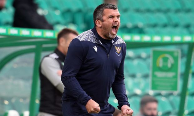 St Johnstone manager Callum Davidson will not be resting on his laurels.