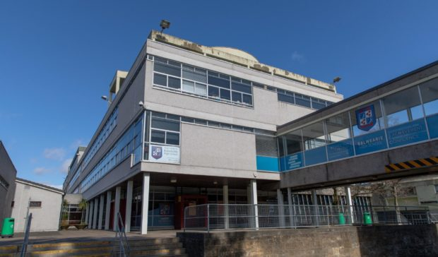 Balwearie High School, Kirkcaldy is just of 19 Fife schools were more than five people are self-isolating.
