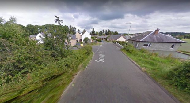 The incident occurred in woodland Scarth Road, Tayview and Hatton Road