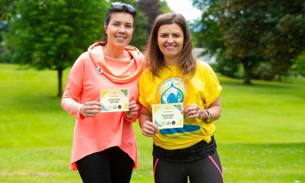 Walking champions Scotland
