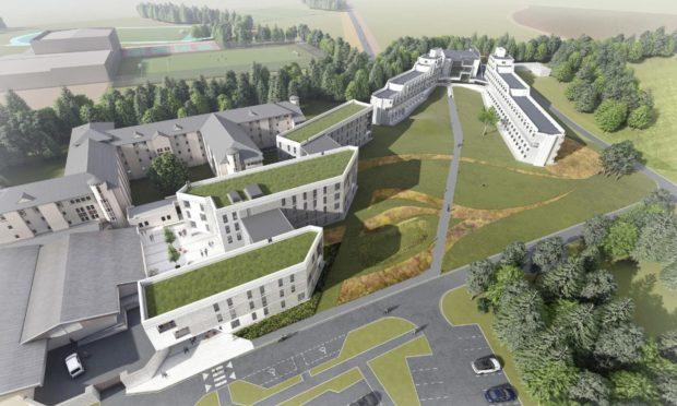 St Andrews University's plans for Gap Site 3