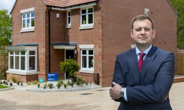 Miller Homes chief operating officer Stewart Lynes.