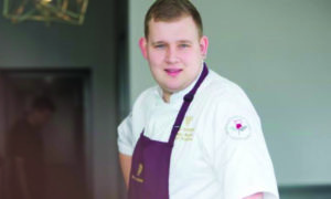 Chef at The Tayberry Adam Newth.