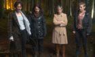 Louie (Eiry Thomas), Anna (Laura Fraser), Nancy (Julie Hesmondhalgh), Cat (Heledd Gwynn) in The Pact.
