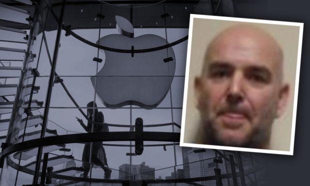 Drug dealer Apple store