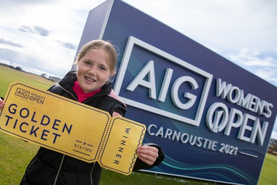 Golden tickets will give junior golfers a behind the scenes look at the Women's Open.