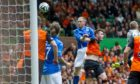 Steven Anderson scores in the 2014 Scottish Cup final.