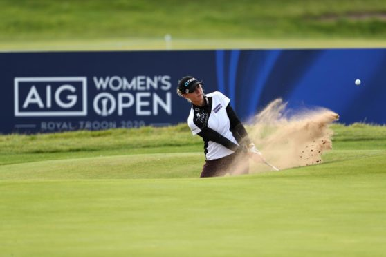 Nelly Korda, AIG Women's Open 2020 (Photo by Jan Kruger/R&A/R&A via Getty Images)