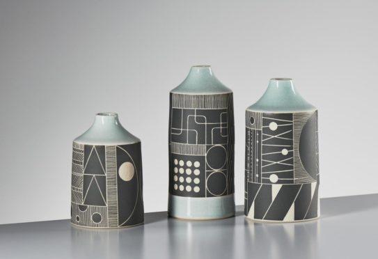 Designed by Jo Walker, appearing at Potfest Scotland.