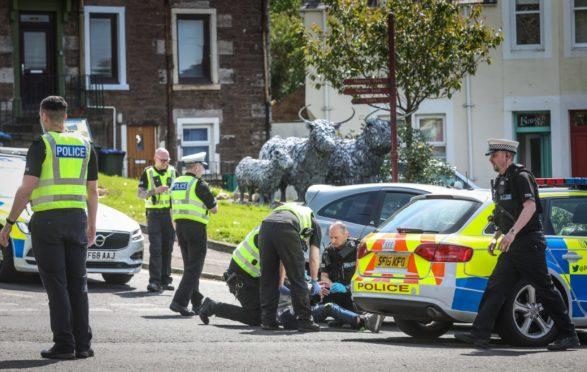 Officers arrest McPherson in Crieff