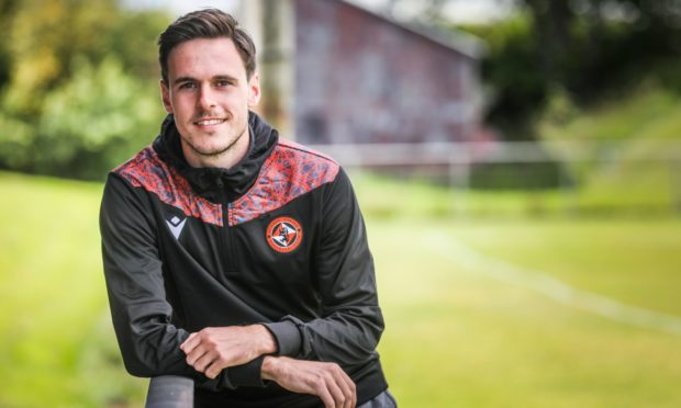 Dundee United defender Liam Smith.