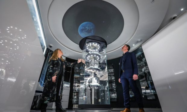 Sheila Fleet - featuring its own planetarium - has opened in St Andrews.