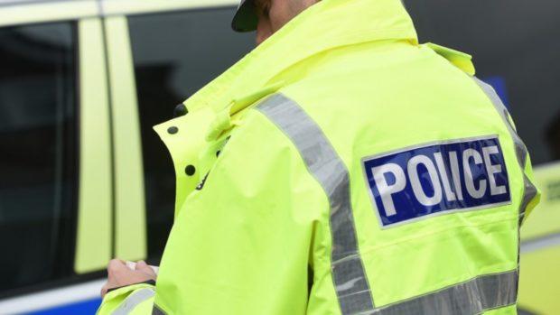 police white van Blairgowrie
