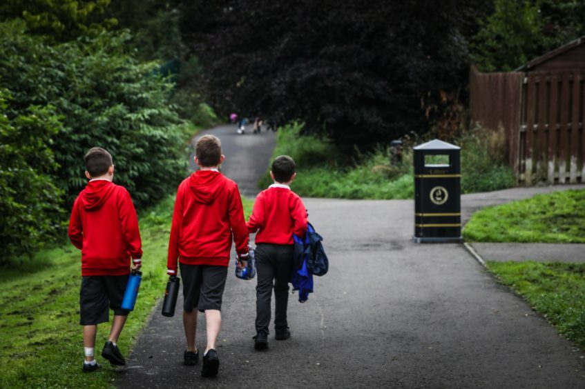 Cases have been confirmed in 10 schools and one nursery in Fife.
