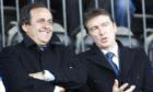 Michel Platini seems to be enjoying the St Johnstone v St Mirren quarter-final in 2008.
