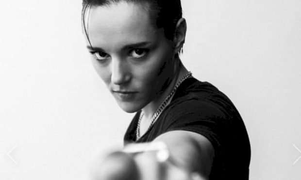 Jehnny Beth from Savages.