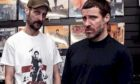 Andrew Fearn and Jason Williamson from Sleaford Mods.