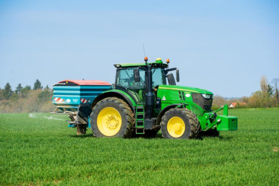 Farmers are being urged to protect tractor GPS kit.