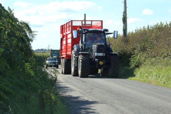 Farmers are required to let other drivers pass their tractors and Cameron MacIver believes cyclists should do the same if they are holding up traffic.