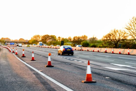 Resurfacing works on the northbound section will last seven days.