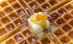 Aunt Kate waffles