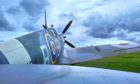 Fiona's been filming at the Dumfries Aviation Museum this week, where Spitfires are among the many things on display.