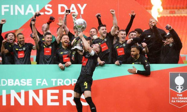 More Wembley glory