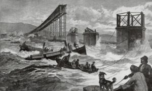 The Tay Bridge Disaster sent shockwaves through the UK Parliament and would impact on building projects in India.