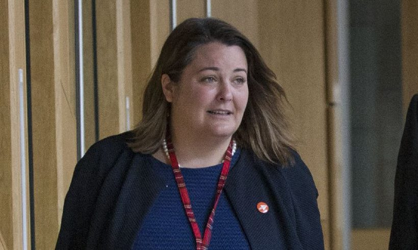 SNP MSP Ruth Maguire.