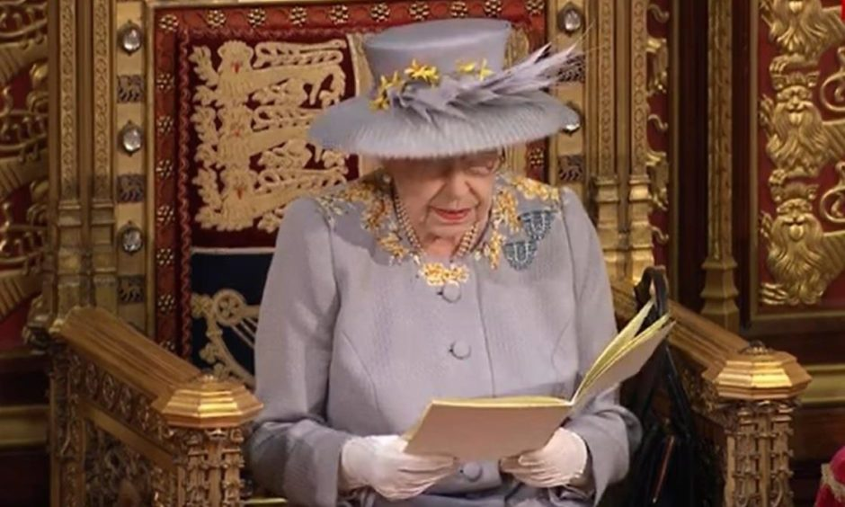 The Queen's Speech is part of the State Opening of Parliament ceremony.